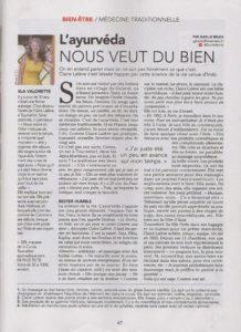 Article supplément Nice -Matin suite